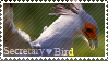 Secretary Bird Stamp by King-Boron