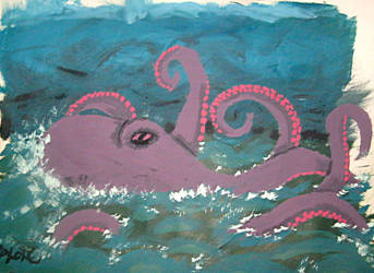 Kraken by brokenxxchild