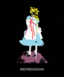 Alice in Depressionland by brokenxxchild