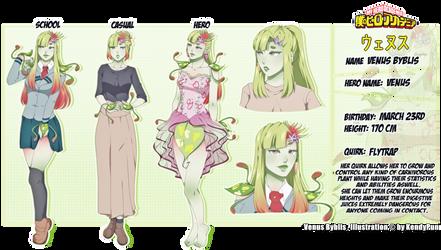 Boku No Hero Academia OC~ Venus Byblis [BIO] by KendyPun