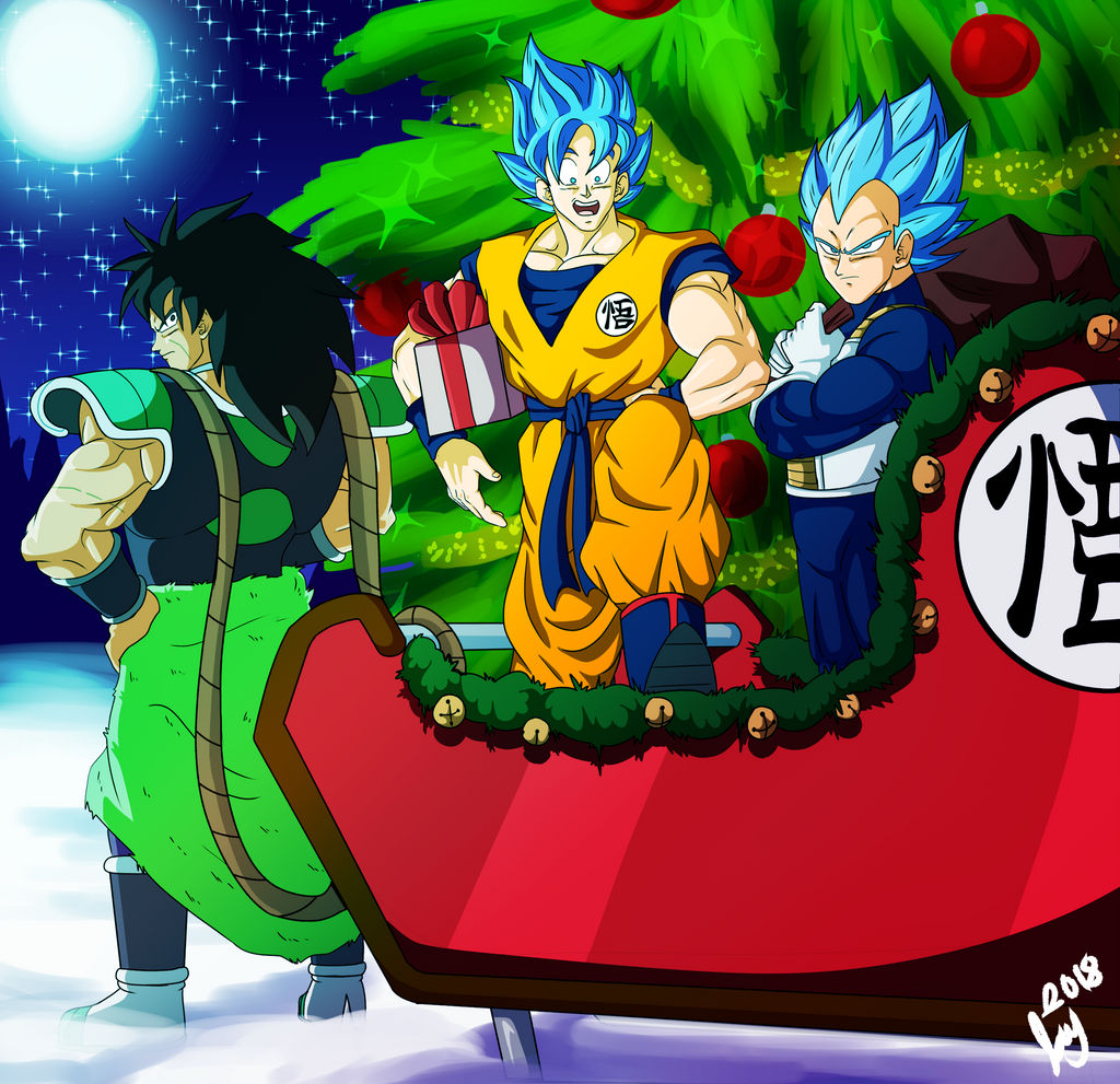 Dragon Ball Super Christmas Wallpaper: Dragon Ball Super Broly By JaySherman93 On DeviantArt