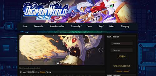 Digimon Layout 2.0 by otavio101