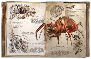 Ark: Survival Evolved Dossiers: Araneo by DJDinoJosh