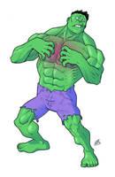 Hulk Rash! by drawerofdrawings