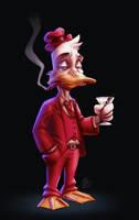 Howard the Duck by drawerofdrawings