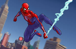 Spider-Man (Insomniac Games) by drawerofdrawings