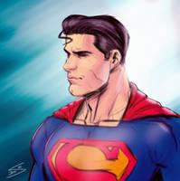 Superman sketch by drawerofdrawings