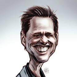 Jim Carrey by drawerofdrawings