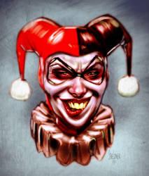 Harley Quinn by drawerofdrawings