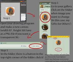 Folder Button Tutorial by Fargonon