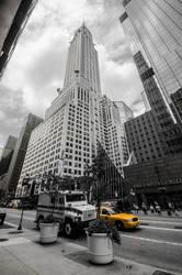 Chrysler Building by LojZza