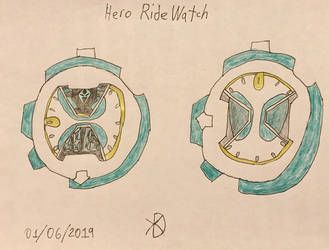 KR Hero Design: Hero Ride Watch by pikatwig