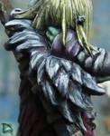 Lanyssa's Feather Cloak by NPlusPlus
