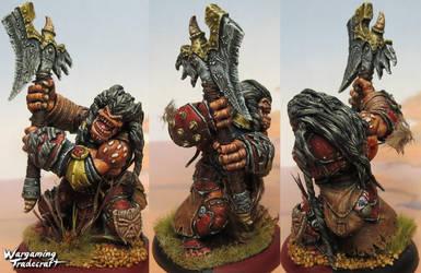 Hordeblood Troll Blademaster by NPlusPlus