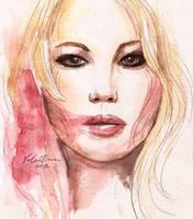 Jennifer Lawrence by WhiteBumblebee