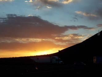 Sunset by trickstapriest