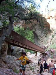 Tonto Natural Rock Bridge by trickstapriest