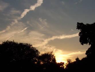 more sunset sky by trickstapriest