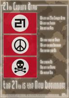21th Century Army by sirethomas