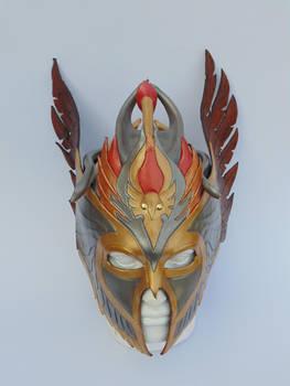 Leather Mask, valkyrie winged helmet by artisanleatheruk