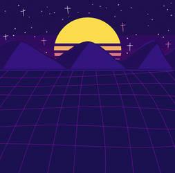 + vaporwave + by Pyjamethyst