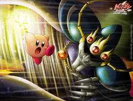 kirby VS Nightmare by Blopa1987