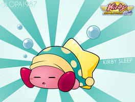 Kirby Sleep by Blopa1987