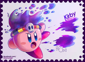 Poison Kirby by Blopa1987
