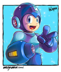 Classic Megaman by Blopa1987