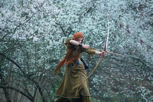 Elven hunt by Wan-Mei