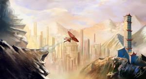 My interpretation of Republic city by Laddyshmad