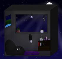 Simple Room by phoenixthefox1