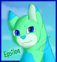 Epsilon Headshot by phoenixthefox1