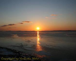 auringonlasku by dieZera