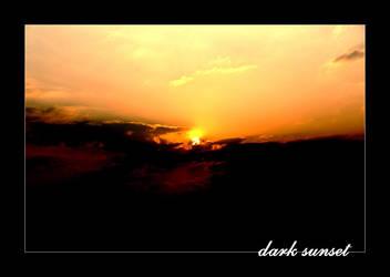 dark sunset by dieZera