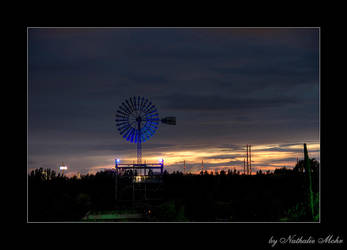 dark windmill by dieZera