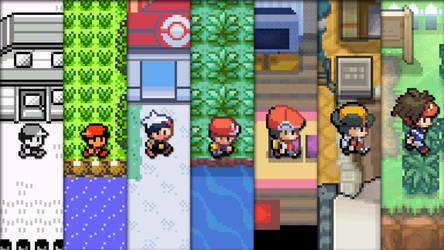 Evolution of Pokemon by jaime07