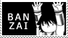 Misaki Banzai Stamp by YamiRinku