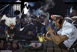Afro Samurai by jennyisdrawing