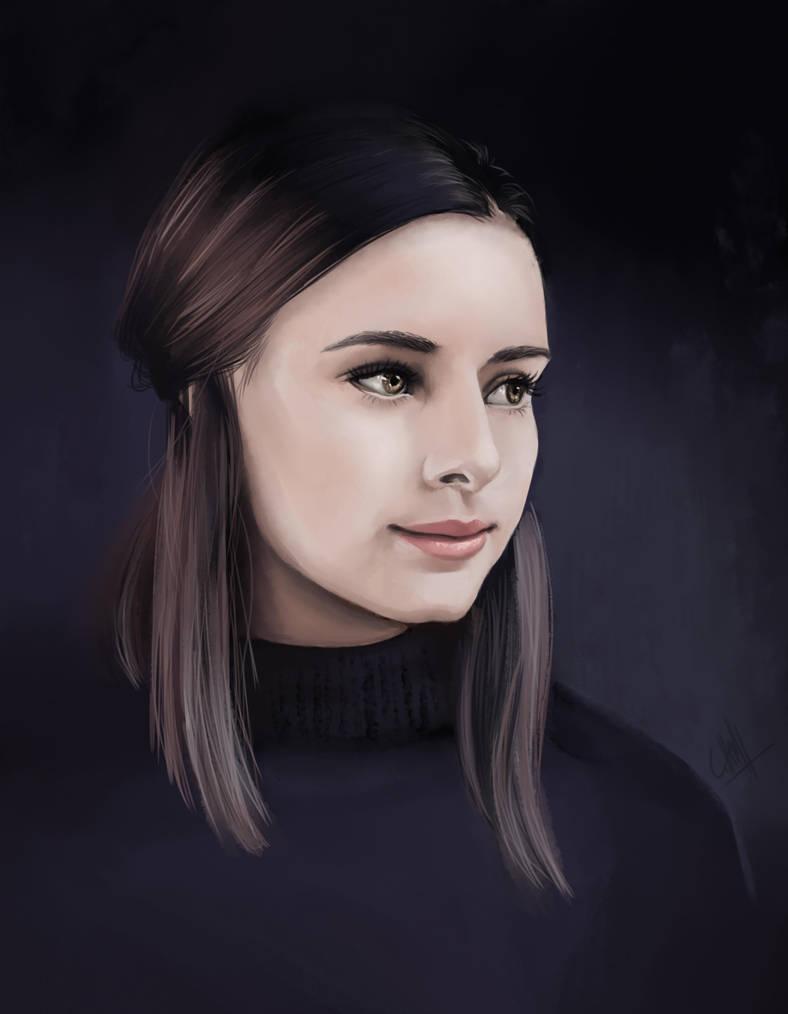 Girl by Lichtermeer