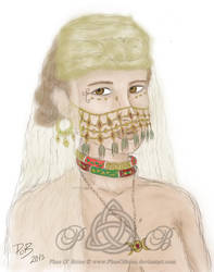 Priestess of Dyry by PhaeOBrien