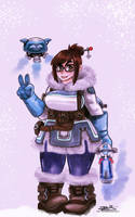 Overwatch: Mei by Thesis-D