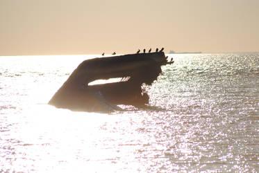 SS Atlantus - Sunken Ship by KelseyMariePhoto