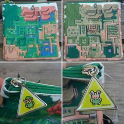 Legend of Zelda pouch by avaneshop