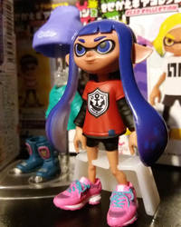 Close up of inkling rement figure by avaneshop