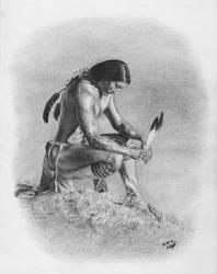 Native American Spirit by Worldinsideart