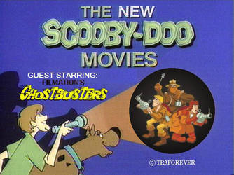 Today, Scooby Doo Meets Filmation's Ghostbusters by tr3forever