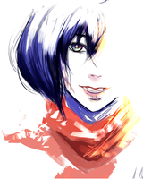Mikasa's Colours by carbonandotherstuff