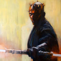 Darth Maul from Episode 1 by kevinsbrush