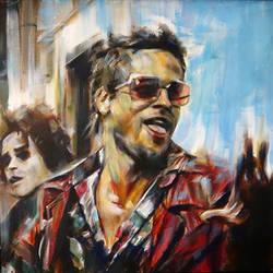Tyler Durden by kevinsbrush